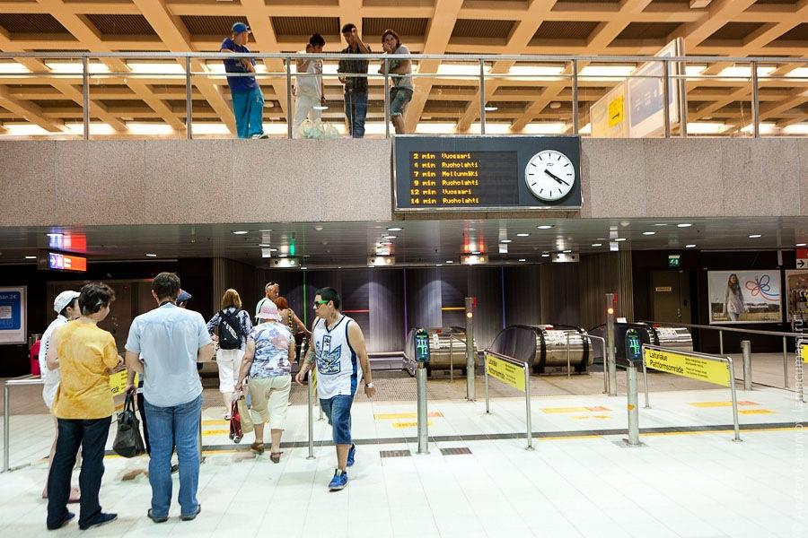 метро Финляндия Хельсинки metro Finland