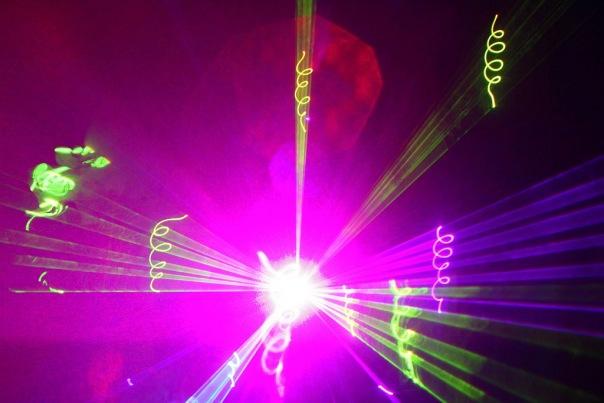 Лазерное шоу в новосибирске на свадьбу