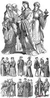 Исторический костюм и доспехи- выкройки