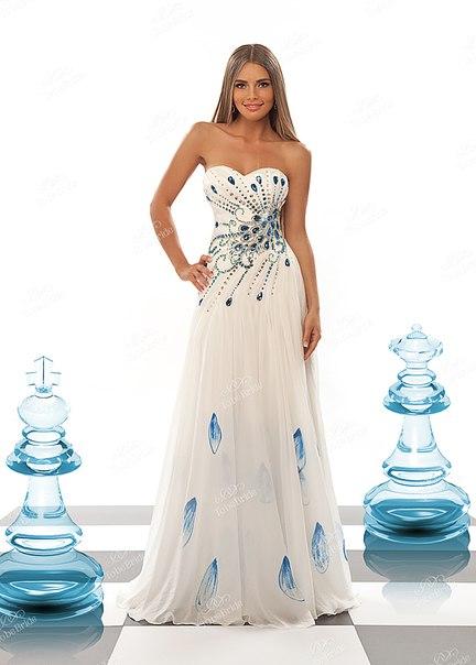 """Вечерние платья под заказ  """" Свадебный салон А-Cилуэт во Владивостоке."""