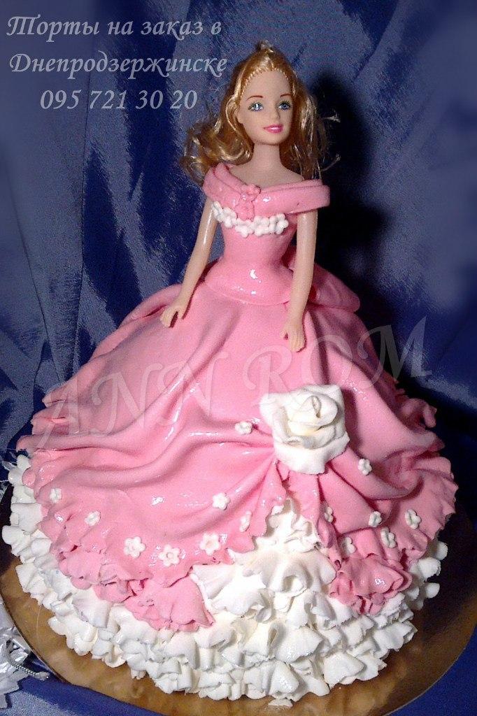 Как сделать торт с куклой своими руками