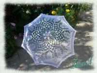 зонт крючком Немного из истории зонтика.  Зонтик является древним аксессуаром.  И хотя само слово голландское...