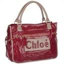 Сумка CHLOE женская, красная кожа.