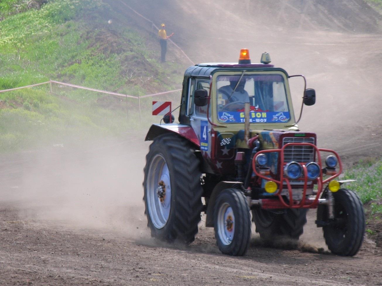 Тюнинг своими руками на трактор 178