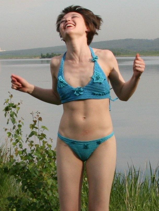 Вяжу купальники всё лето, вот что получается.  Автор:krupko (Отправить...