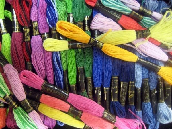Новая цветовая карта ниток