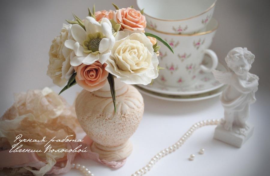 Розы шебби шик своими руками