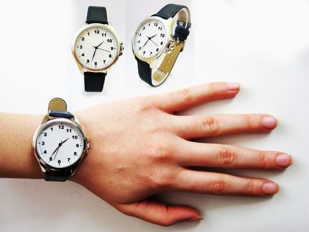 Как сделать часы в обратную сторону
