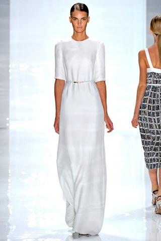 Derek Lam. мода весна-лето 2012.  Метки.  Неделя моды в Нью-Йорке.