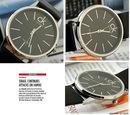 Часы CKК Calvin Klein (цвет белые).  Кварцевые, коженный ремешок.