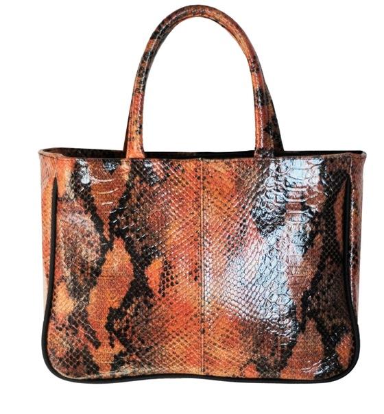 Женская кожаная сумка Souffle.  Ideal iris.