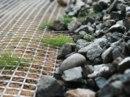 ...обработанного вяжущим, в ом числе на месте производства работ, материала или рулонный пленочный материал для...
