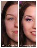 Поэтапно-макияж для нависшего века.