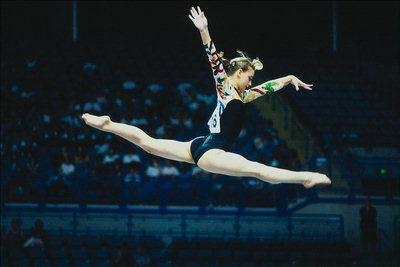Фото - Рождение детей.  Спортивная гимнастика.  Прыжки в длину.