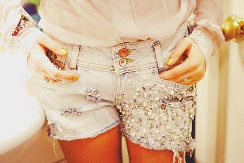 подборка одежды хенд мейд из блогов Street Style. как украсить джинсовые...