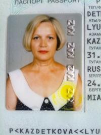 Людмила Деткова, 18 февраля , Новосибирск, id75087568