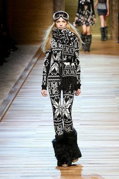 Вязанный комбинезон Dolce&Gabbana.