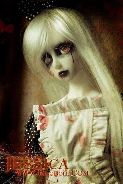 страшные куклы фото