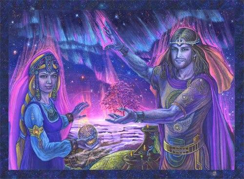 Послание Адамы. Восстановление родственных связей с Внутренней Землей