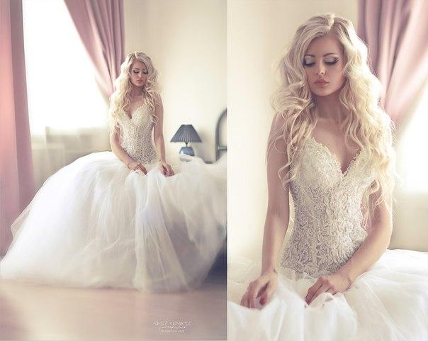 Самая красивая прическа невесты