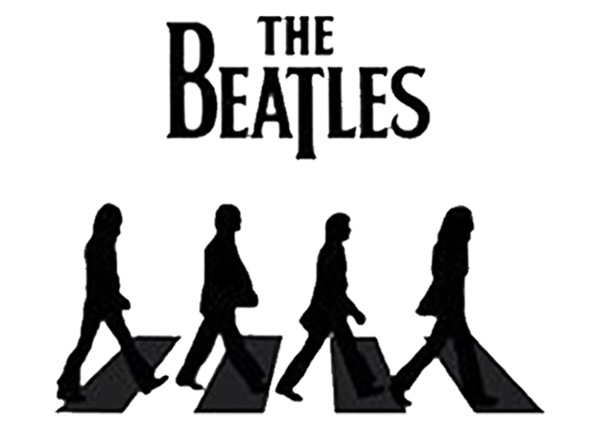 Футболка The Beatles - Битлз.