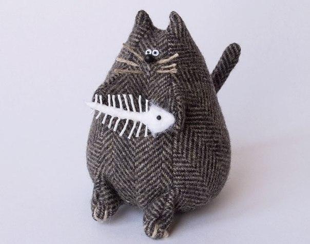 Выкройки котов из ткани своими руками
