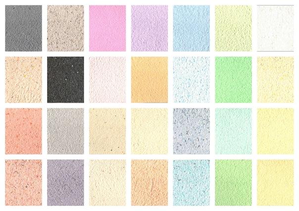 цветовая гамма жидких обоев фото