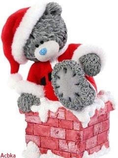 Мишка Тедди Me to You рождественский.
