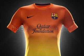 Barcelona Visitante Kids Camiseta de Futbol Visitante 2012/2013.