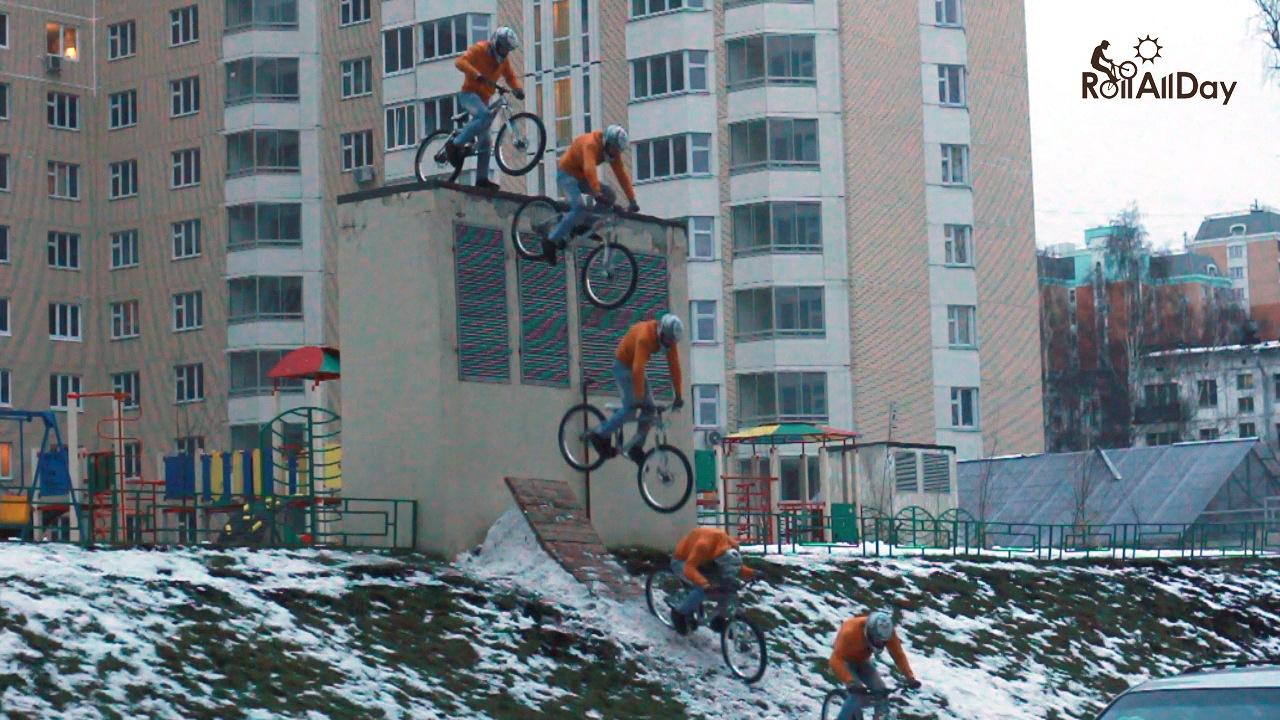 Roll All Day: Шо, опять? или Невероятные приключения московского фриройдера в Горках. Часть 1