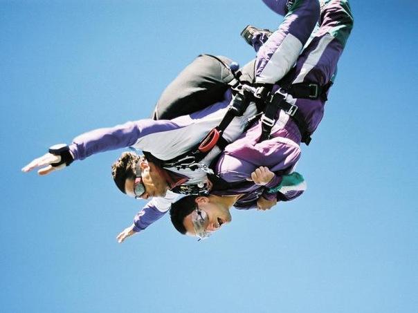 """Прыжок с парашютом  """"Небесная ласточка """""""