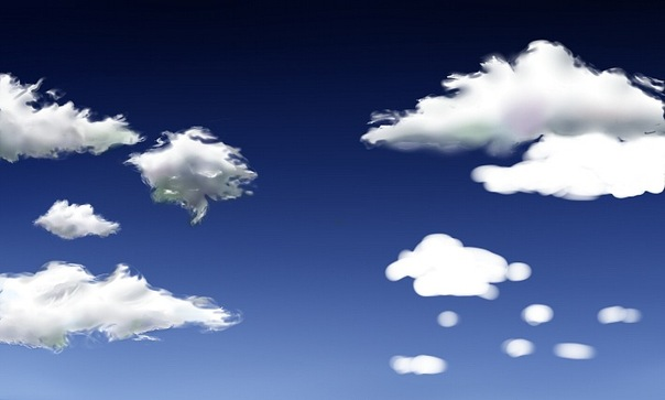 Как рисовать облака в саи