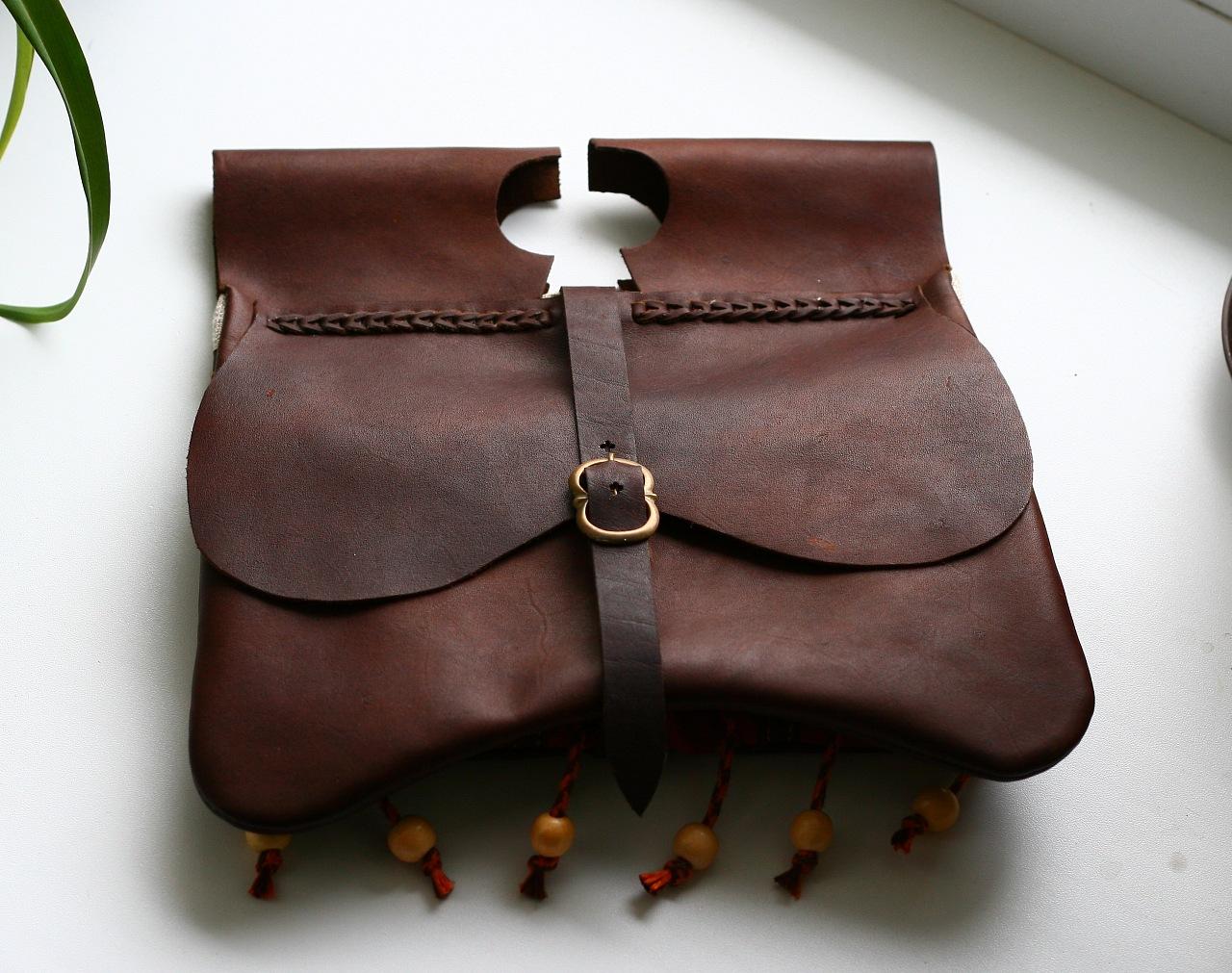 Кожаный рюкзак на заказ сшить 78