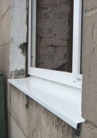 Металлические оконные отливы производятся для защиты стен и фасадов зданий от атмосферных осадков.