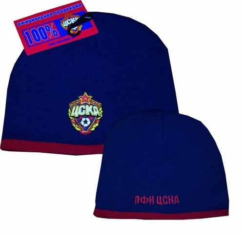 Вы можете купить Футболка темно-синяя ЦСКА Лого 2. 100 % хлопок.