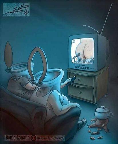 Частоты телевизионной картинки для манипуляции телезрителями