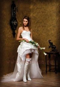 Свадебные платья - это те наряды, которые одеваются один раз, но...