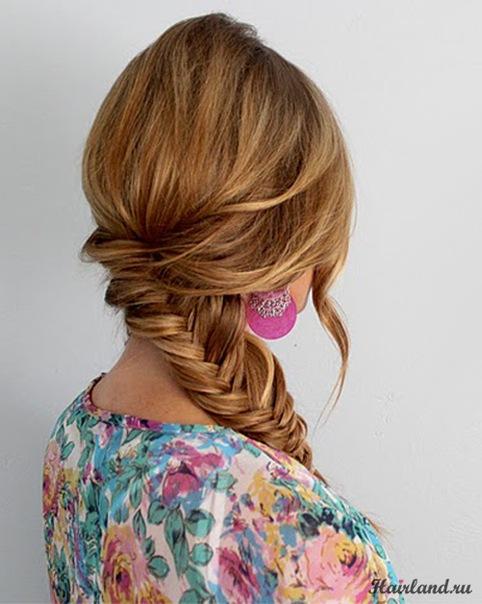 пошаговая инструкция плетения кос.