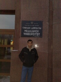 Акмырат Джуманазаров, Гомель, id116236341