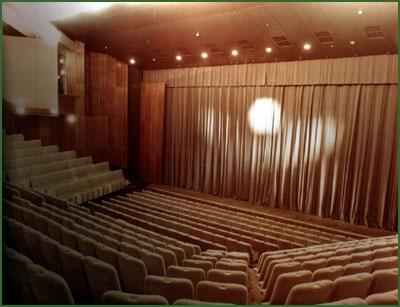 Зал музыкального театра во Дворце искусств.