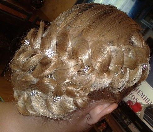 Прически французских кос