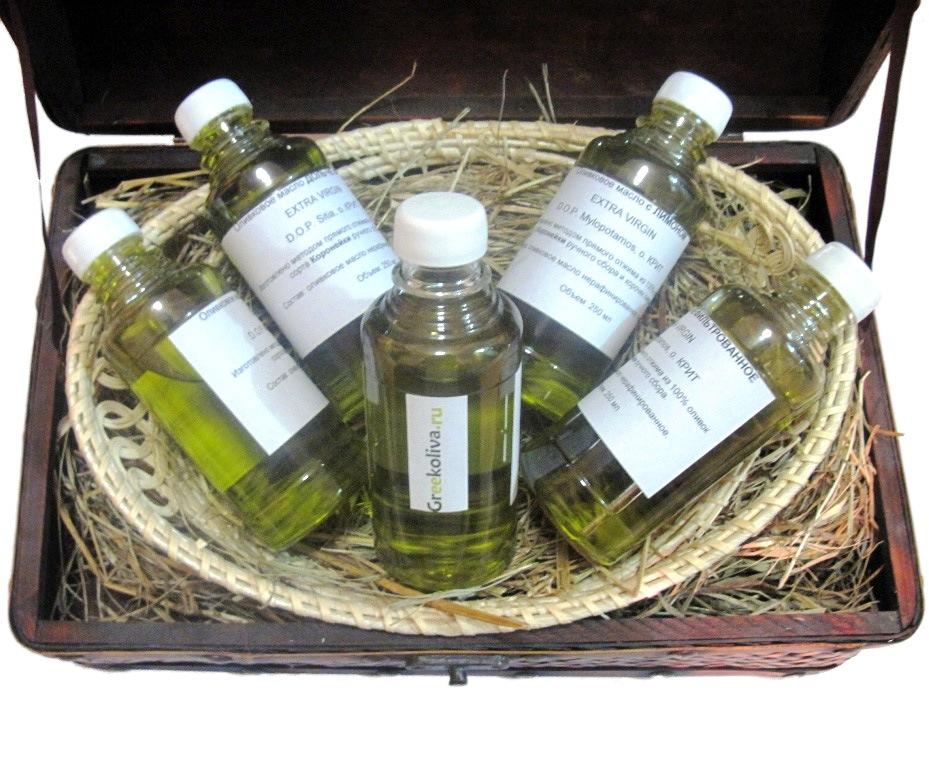 Дегустационный набор оливкового масла