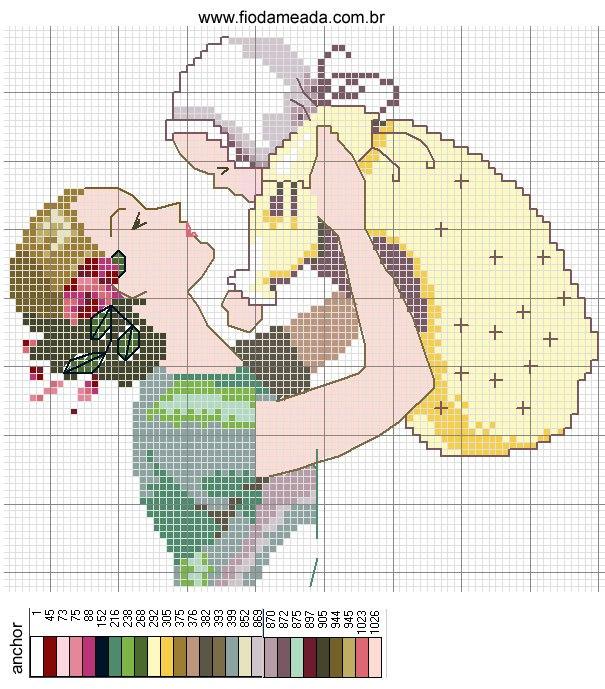 Схемы вышивок на детскую тематику
