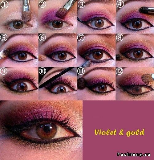Вечерний макияж для дам эллегантного возраста