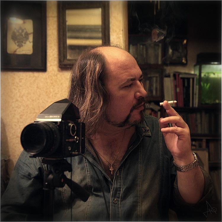 """Д. Акимов. """"Автопортрет"""""""
