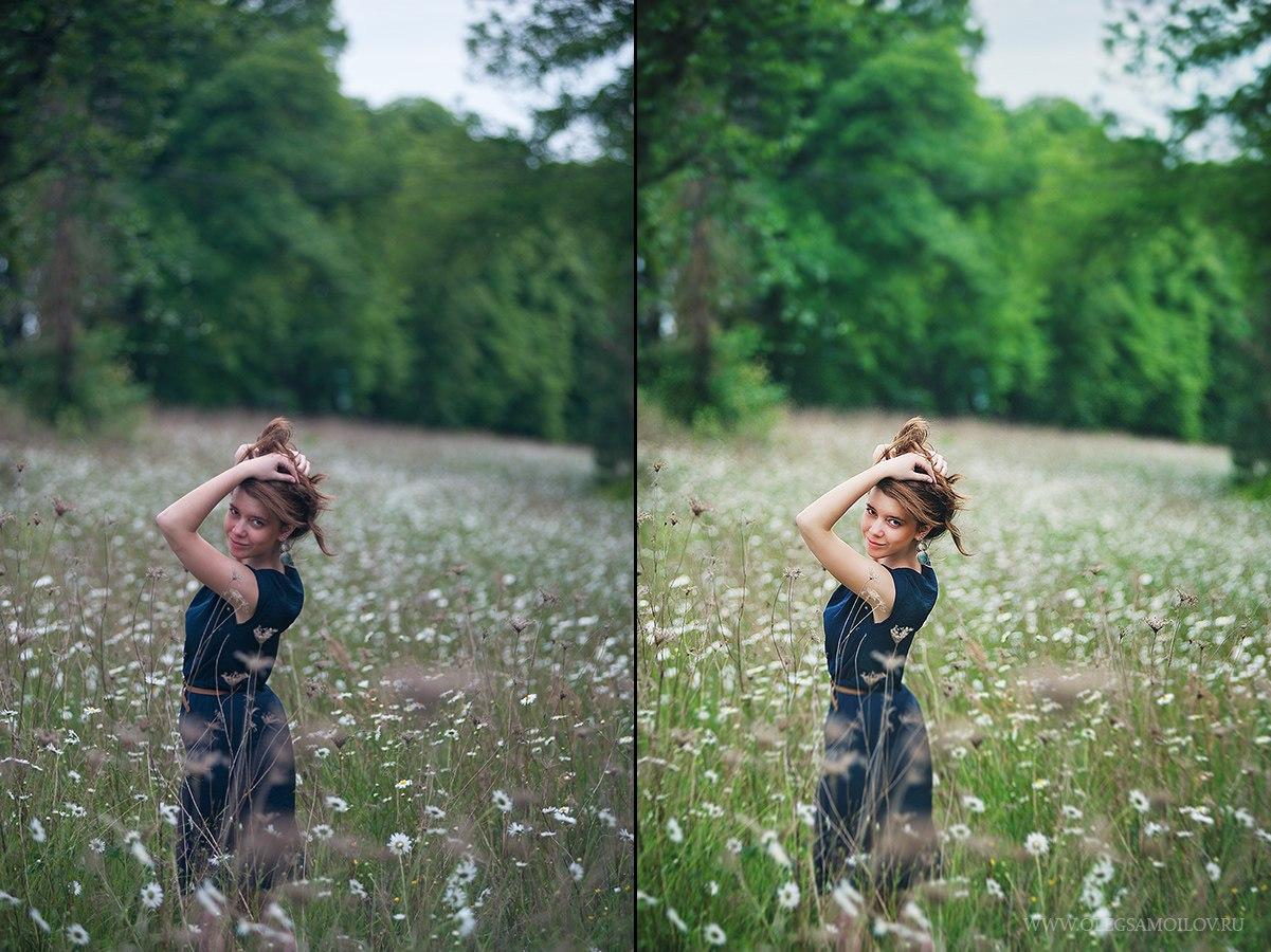 Обработка свадебных фотографий в photoshop