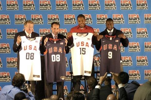 Новый состав сборной США