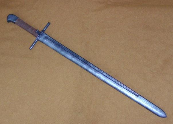 Текстолитовый меч своими руками