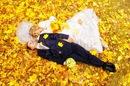 ...цвета - прекрасное сопровождение свадьбы, сыгранной поздней осенью.