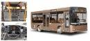 Низкопольный автобус предназначен для перевозки пассажиров на городских и пригородных маршрутах средней загруженности.